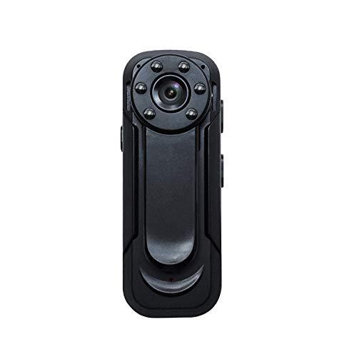 Lenofocus Mini Body Camera 1080P Full HD Hidden Spy Cameras Portable Pocket Clip