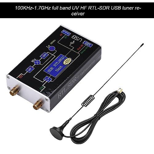 8232 Radio US Woyisisi 100KHz-1.7GHz Full Band U//V HF RTL-SDR USB Tuner Receiver// R820T