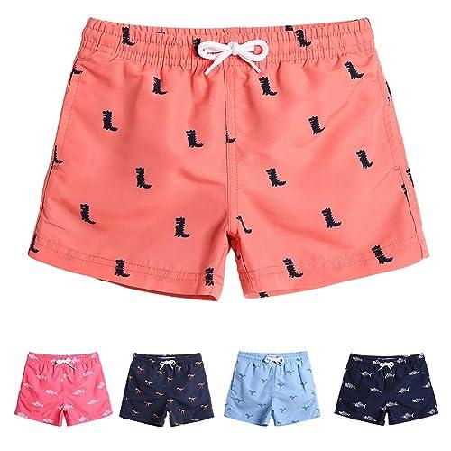 d7db43795becf MaaMgic Boys Swim Trunks Toddler Swim Shorts Little Boys Bathing Suit  Swimsuit Toddler Boy Swimwear