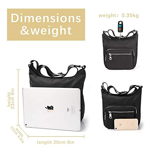 d243692121d7 Buy ZORFIN Crossbody Bag for Women Waterproof Shoulder Bag Travel ...