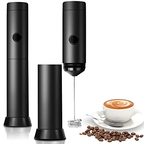 Portable Milk Frother Electric Egg Beater USB Charging Mixer for Coffee Drink.