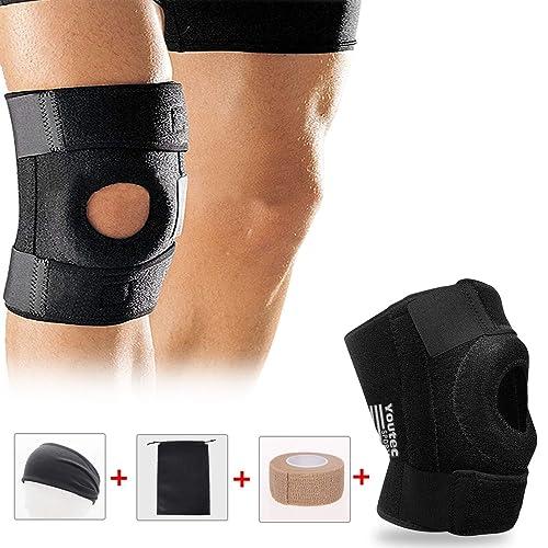 c80f88a49cadb Buy Youtec Knee Brace, Knee Sleeve, Knee Support Hinged Pad ...