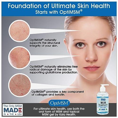 Buy Kala Health MSMPure Max Strength Skin and Facial MSM Gel