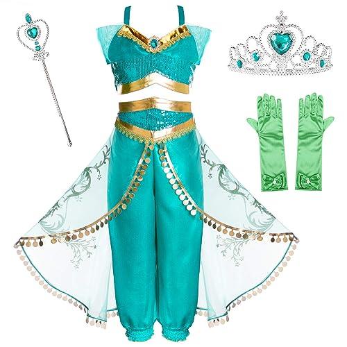 New Disney Parks Princess Snow White Costume Jeweled Light Up Wand Halloween