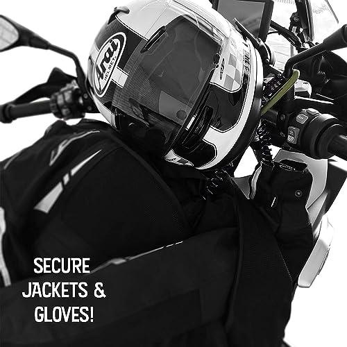 Heavy Duty Helmet Lock Anti-Theft Resettable Combination Lock Security PIN Locking Chain Buckle Lock Secure Motorcycle Gear Beach Bags Travel Luggage Sports Gear Belongings