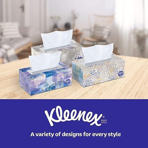Pack of 8 Kleenex Ultra Soft Facial Tissues 120 Count per Box